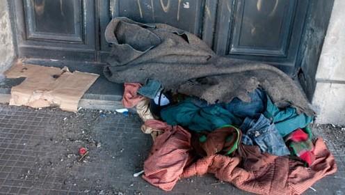 Murió una persona en situación de calle por hipotermia