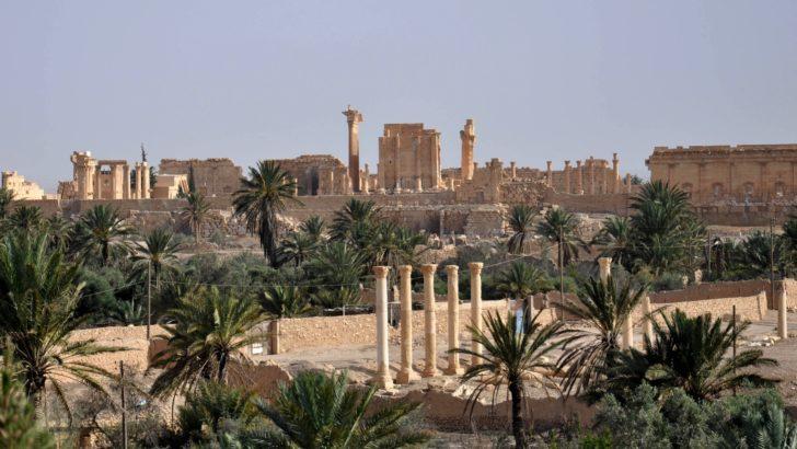 EI y el ataque a zonas arqueológicas