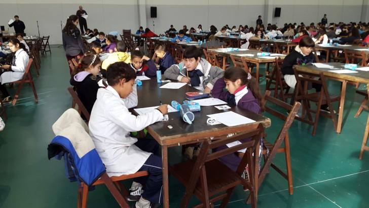 Olimpíada de matemática en el barrio Casavalle