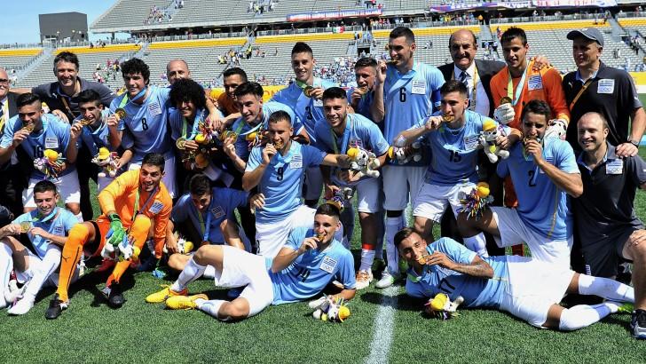 Panamericanos de Toronto: Uruguay ganó la medalla de oro en fútbol, título que no conseguía desde 1983