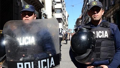 ¿Es Uruguay uno de los países del mundo con más policías per cápita?