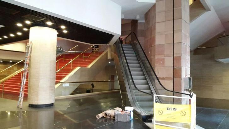 Auditorio del Sodre estrena sus escaleras mecánicas