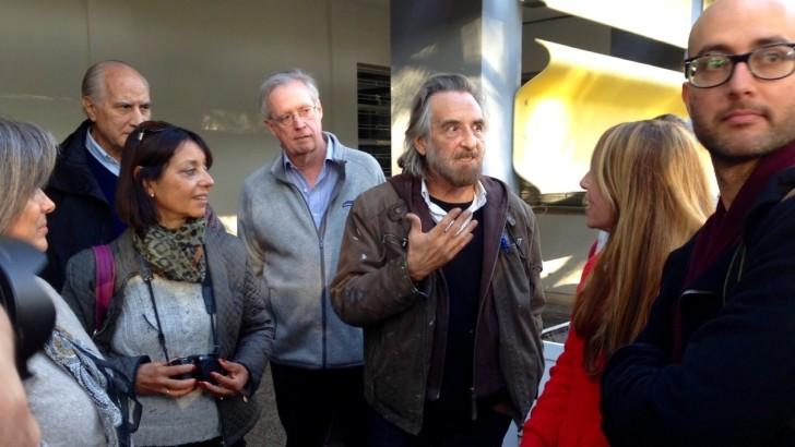 Ignacio Iturria, un éxito en la exposición y en el mano a mano