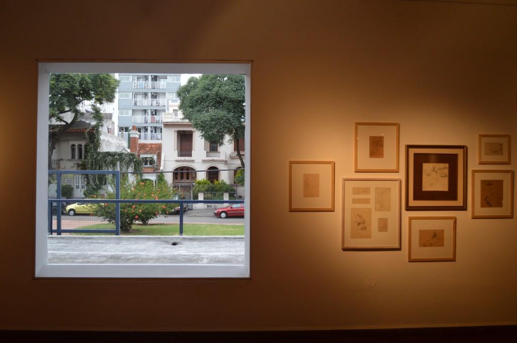 Perspectiva montevideana desde el Museo Nacional de Bellas Artes