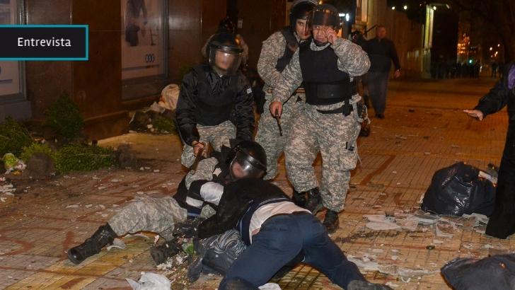 Faroppa (INDDHH): En desalojo del Codicen «no hubo un procedimiento policial dirigido al uso ilegal de la fuerza»