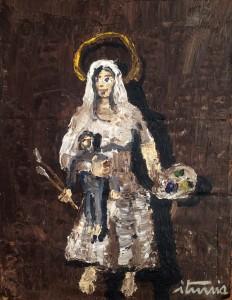 Virgen de los Pintores, de Ignacio Iturria