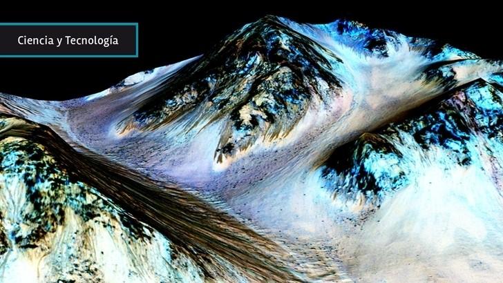 Hallazgo de agua líquida en Marte mejora las condiciones para futuros asentamientos humanos