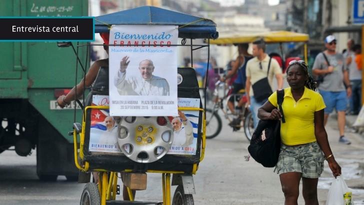 El Gobierno cubano se siente «políticamente identificado» con el papa Francisco, dice periodista uruguayo desde La Habana