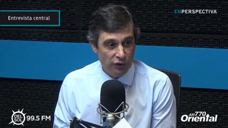 """Álvaro García (OPP) sobre planteos de suba de impuestos: """"En economía no hay acciones que no generen efectos secundarios"""""""