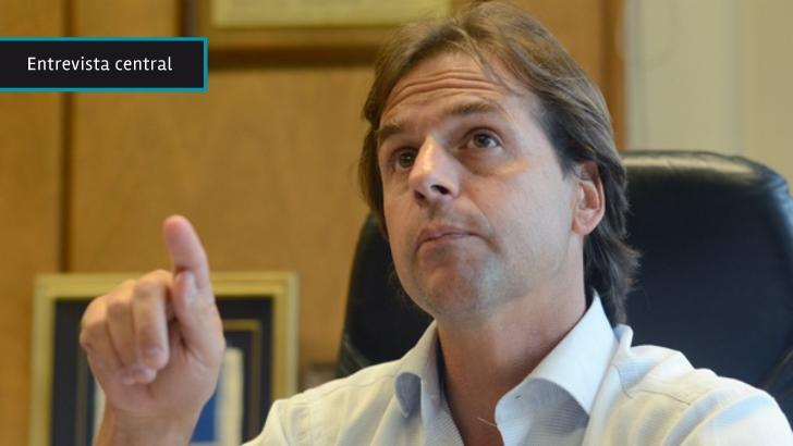 """Luis Lacalle Pou: """"No es serio decir que hacen falta 11 años para obtener resultados"""" en seguridad pública"""