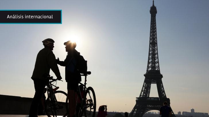 """París hace """"buena letra"""" antes de la cumbre sobre cambio climático y promueve transportes alternativos"""