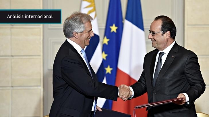 Gira de Vázquez: Reunión con Hollande, cena de honor y acercamientos comerciales marcan la agenda en París
