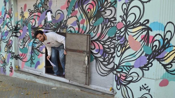 <em>Golpe de vista</em><br>Hay vida detrás del graffiti