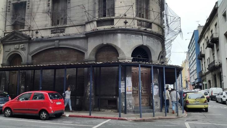 Ciudad Vieja: Otro edificio del Estado en situación de abandono