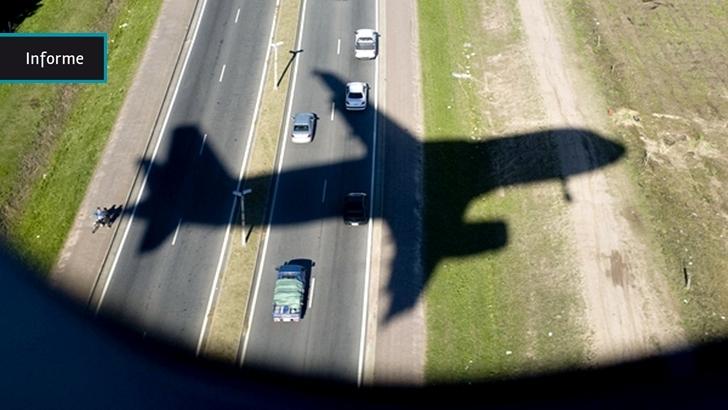 Informe: Dos viejos aviones de Pluna S.A. pronto irán a remate y se estima que se venderán como chatarra