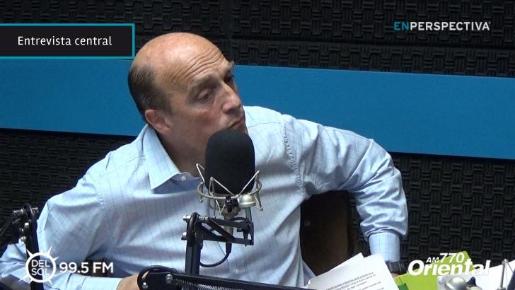 """Daniel Martínez sobre el Fondo Capital: «Montevideo tiene que dar un salto cualitativo en su infraestructura"""""""