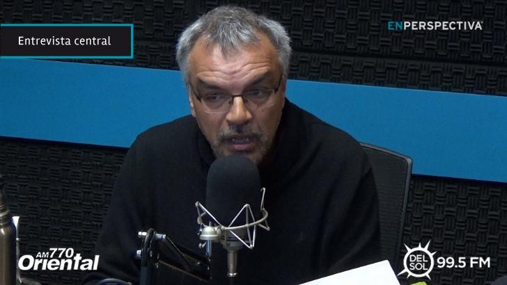 """Ruben Villaverde (ex presidente del Sirpa): """"El día que aparece un tipo que termina con las fugas le meten una denuncia en Crimen Organizado. Es una cosa de locos"""""""