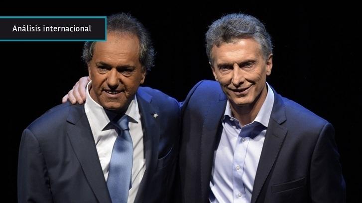 Argentina debate: Scioli y Macri no se salieron de sus libretos y dejaron preguntas sin respuesta