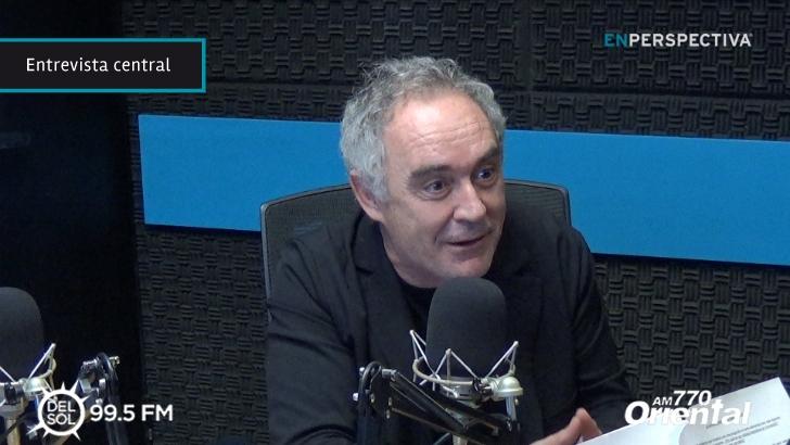 """Ferran Adrià, creador del restaurante elBulli: Para la innovación """"no hay recetas"""", """"tienes que ser tu propio gurú"""""""