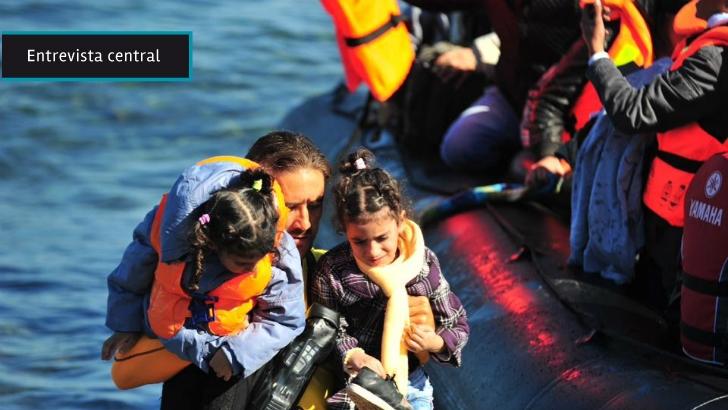 Uruguayo que rescató refugiados en el Egeo: «Tienes que seleccionar a los que están más a merced de la muerte»