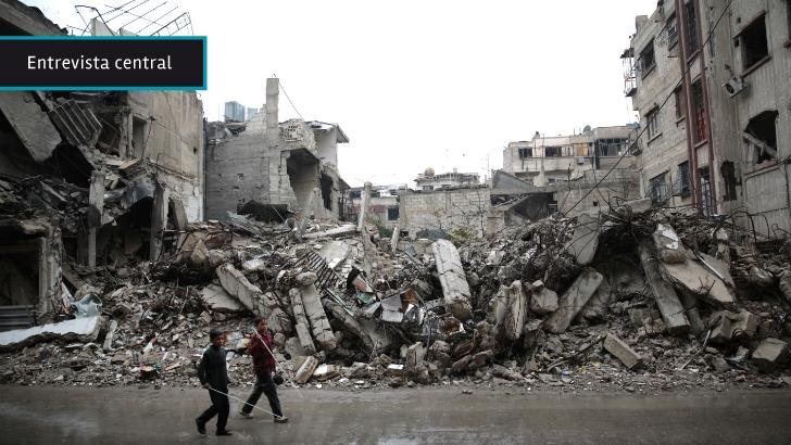 """""""Hay una pequeña luz de esperanza"""" para Siria, dijo a <nobr>En Perspectiva</nobr> coordinador de ayuda humanitaria de ONU"""