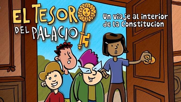 <em>Día Universal del Niño</em><br>Un cómic para explicar la Constitución