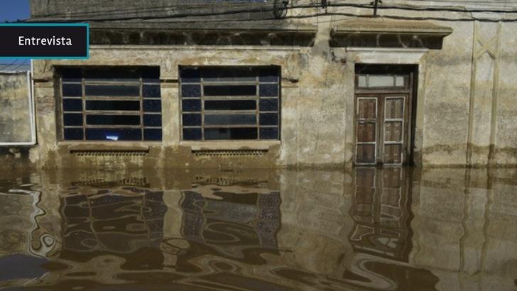 Las inundaciones dejaron a Artigas «totalmente aislado del mundo», dice el intendente Pablo Caram