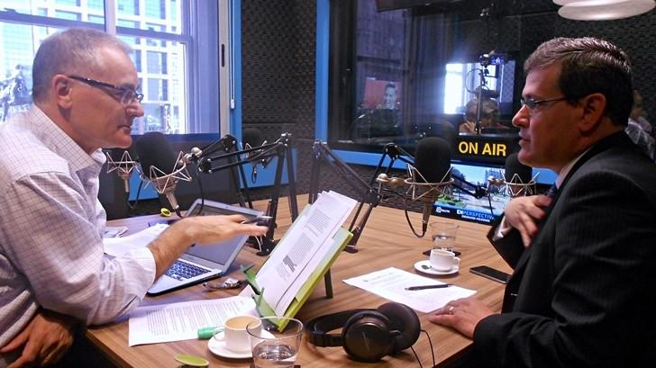 Entrevista central, jueves 3 de diciembre: Jorge Díaz