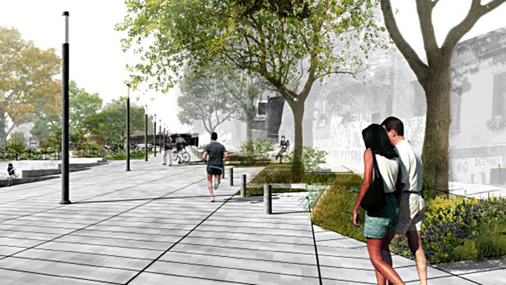 Proyecto de estudiantes de arquitectura renovará plaza de La Blanqueada