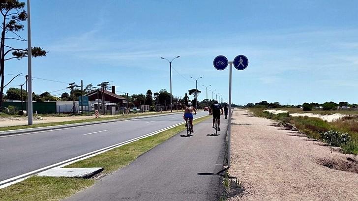 Inauguran doble vía de acceso a El Pinar