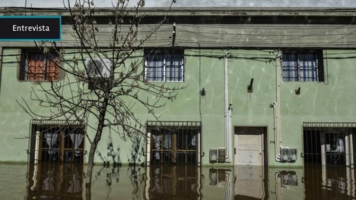 Salteños preveían crecidas del Río Uruguay sobre fin de año pero no de la magnitud actual, dice intendente Andrés Lima