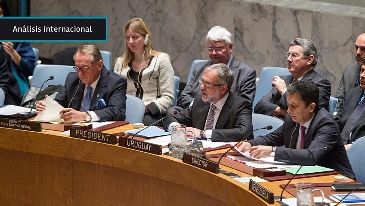 Uruguay defiende en Consejo de Seguridad la necesidad de juzgar a responsables de muertes civiles en conflictos
