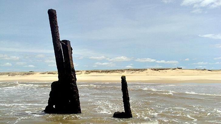 Del Cabo Polonio a <nobr>La Pedrera</nobr> caminando por la playa