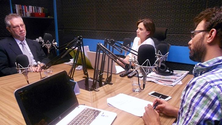 Entrevista central, viernes 15 de enero: Jorge Vázquez