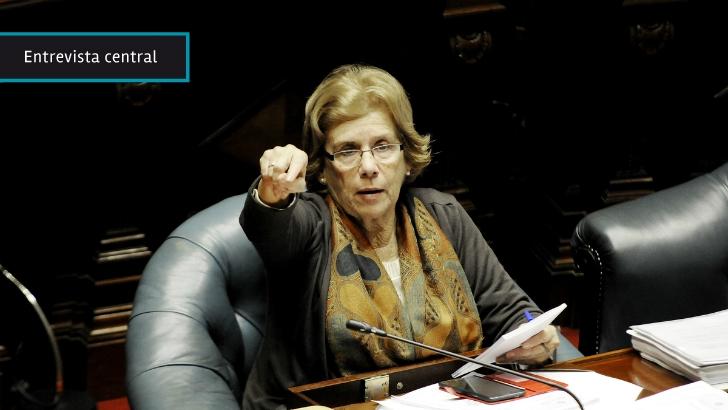 """Senadora Payssé: """"La concepción de seguridad de Bordaberry está muy lejos de la que tenemos como fuerza política y de Gobierno"""""""