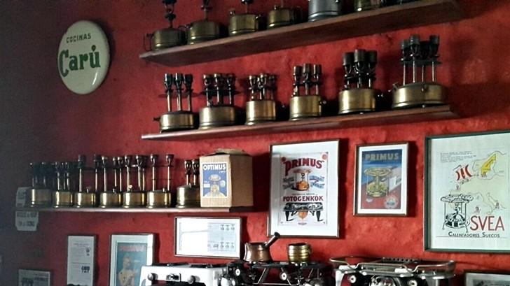 Gastronomía y tango en el «museo del Primus»