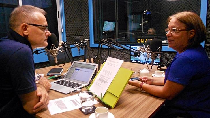Entrevista central, viernes 18 de marzo: Mónica Xavier