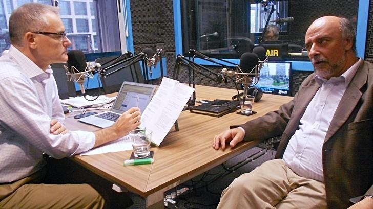 Entrevista central, lunes 28 de marzo: Pablo Mieres