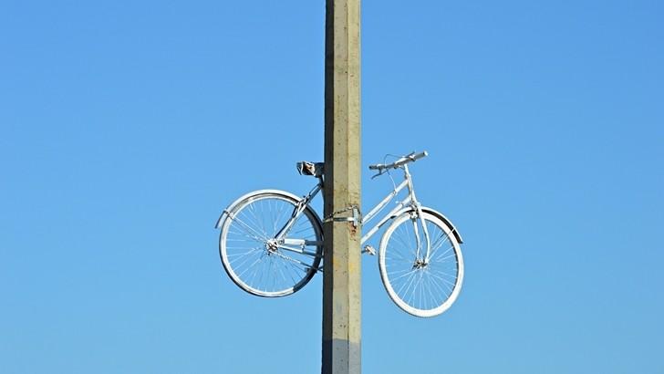 <em>Golpe de vista</em><br>Inocente como una bicicleta