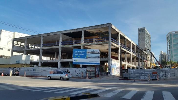 Comenzaron obras de la sede del CAF en el ex Mercado Central