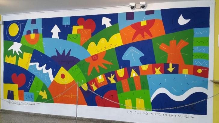 El arte de Coco Cano presente en el Hospital Maciel
