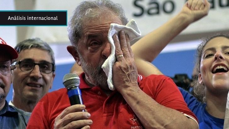 Brasil: Tras ser detenido para declarar en el caso <em>Lava Jato</em> Lula une a la militancia del PT y sugiere que va a ser candidato