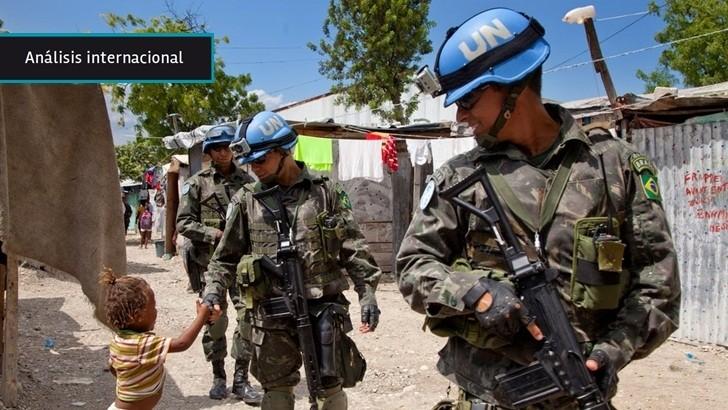 """<em>Análisis internacional</em><br>ONU quiere """"acelerar"""" retiro de tropas de paz de Haití"""