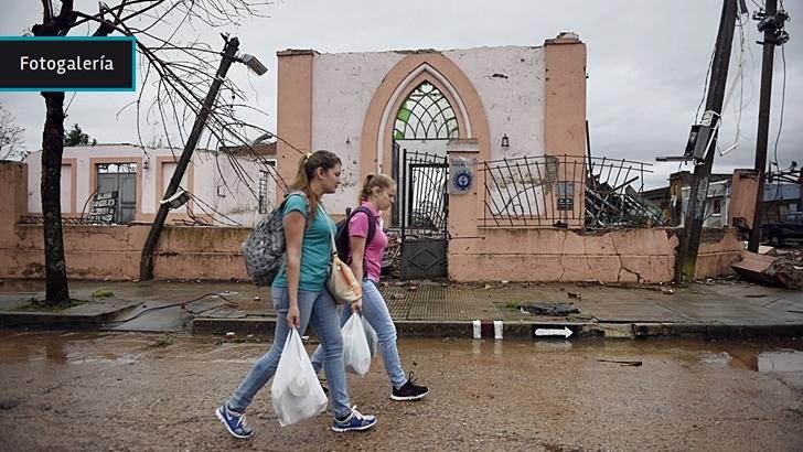 Tornado en Dolores: Después del <em>shock</em>, organización, solidaridad y reconstrucción