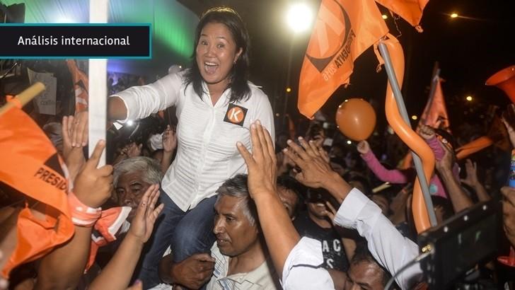 Elecciones en Perú: «Keiko Fujimori es favorita pese a ser hija de un presidente preso y cuestionado, lo que habla de la falta de nuevos liderazgos»