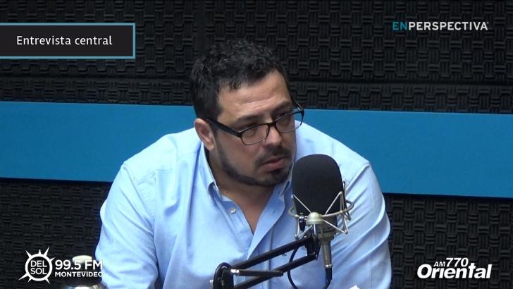 """Alejandro Sánchez (MPP): """"Parte de la crisis del FA es creer que los lugares importantes son los cargos y no la fuerza política"""""""