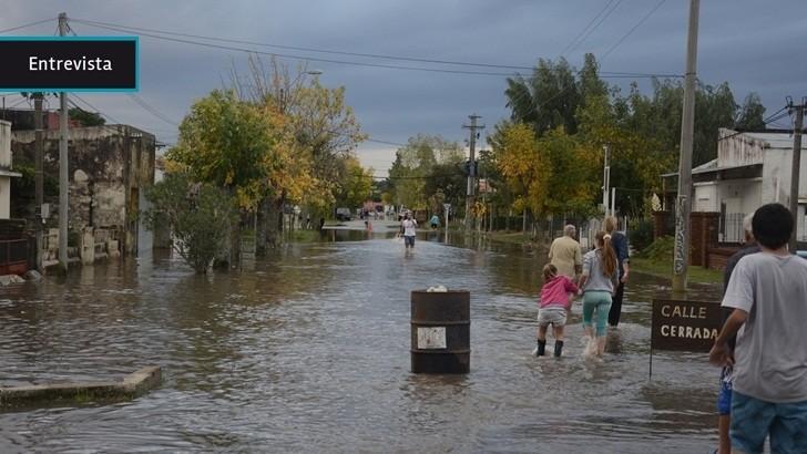 """Colonia: Rosario lució """"bombardeada"""" tras la inundaciones del fin de semana"""