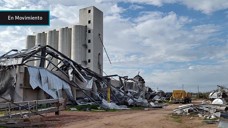 En Perspectiva en Dolores: La cooperativa Cadol, una muestra de la brutalidad del tornado, prepara su relanzamiento