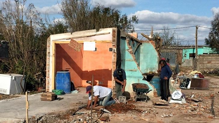 <em>Fotogalería</em><br>La reconstrucción de Dolores: Una ciudad unida y en obra