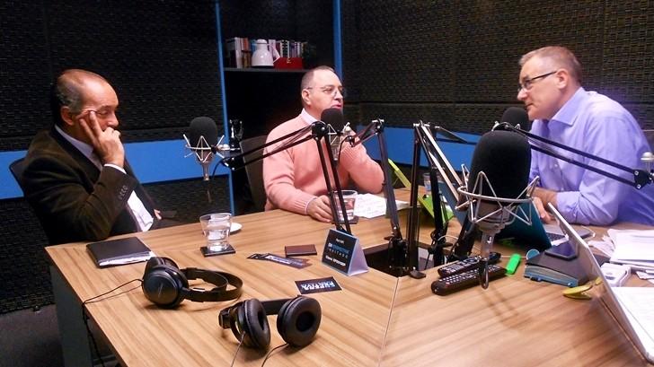 Entrevista central, jueves 5 de mayo: Hoenir Sarthou, Eduardo Fiore